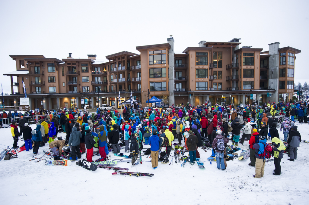 Revelstoke Mountain Resort opening day - November 30, 2013