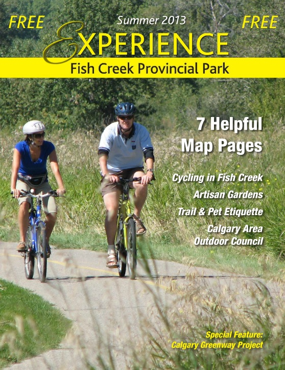 Experience Fish Creek Provincial Park 2013 cover