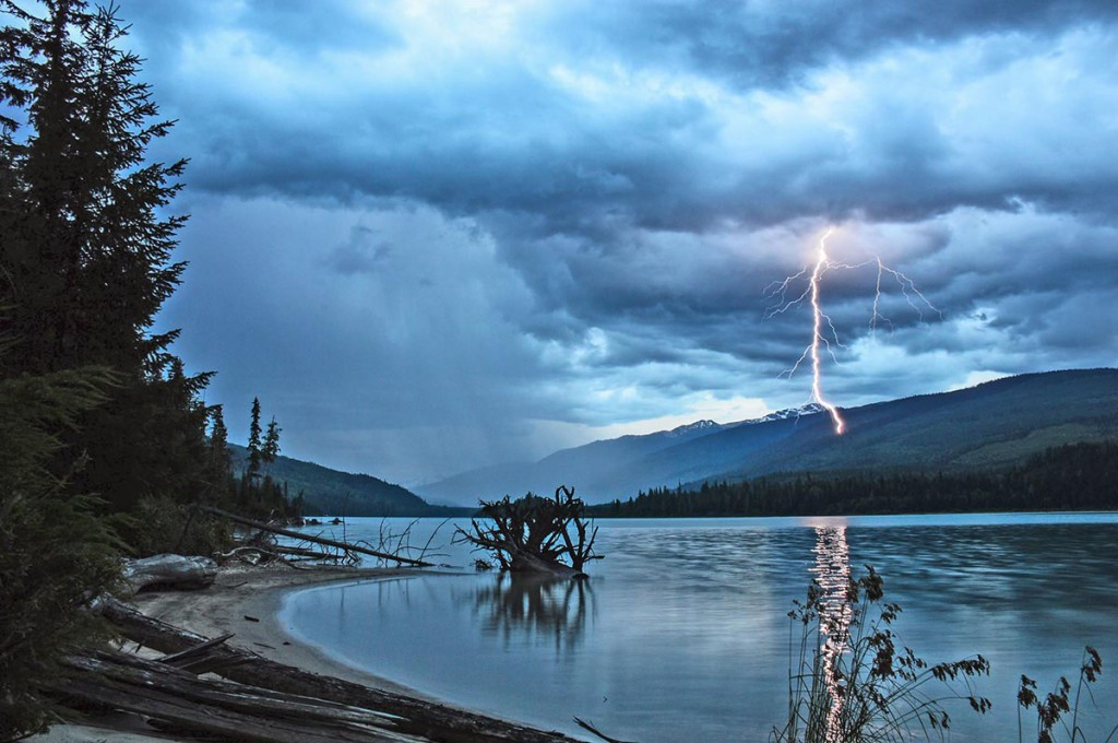 """Lake Revelstoke Storm"" -  by Angus Duncan"