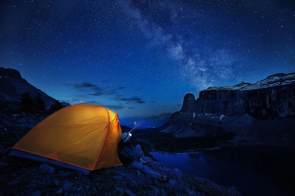 Honorable mention - Camping on the edge