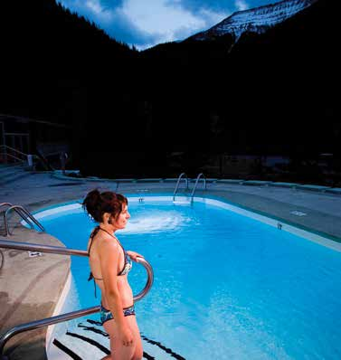 Miette Hot Springs, 2014 Photo Courtesy of Parks Canada, Lee Simmons Photographer