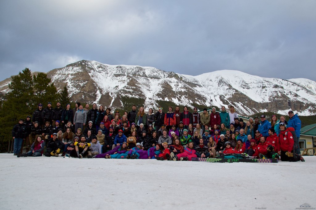 Castle Mountain Resort staff 2014/2015