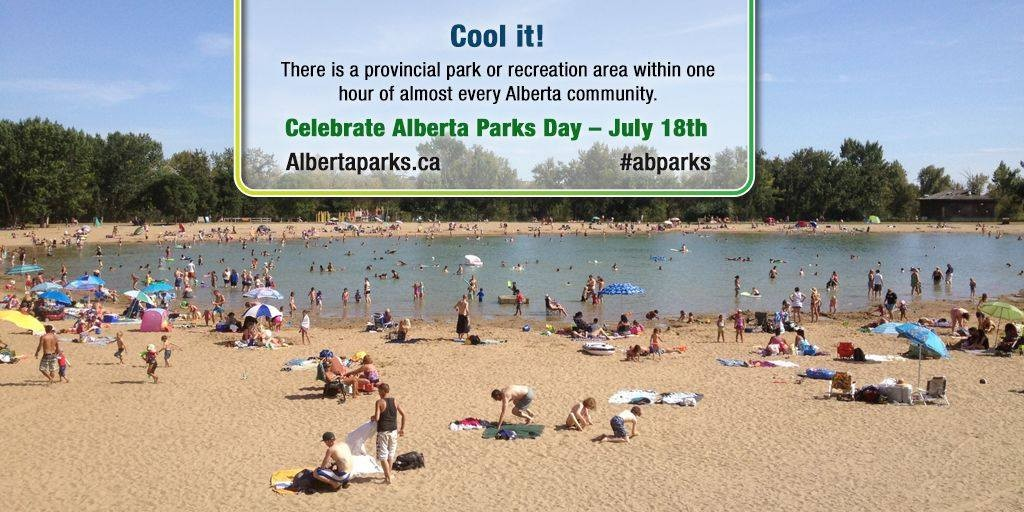 Parks Day - beach - courtesy Alberta Parks