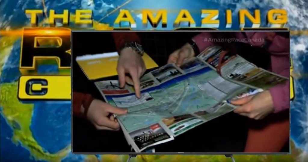 Jasper Map in Amazing Race show 2