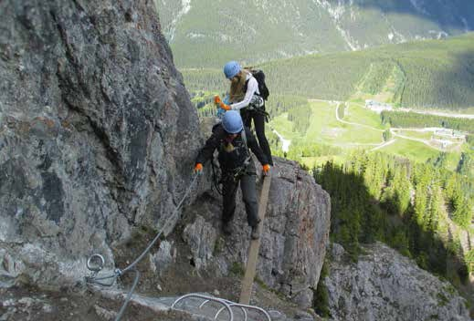 Mount Norquay Via Ferrata - Banff National Park - Photo by Lynn Martel