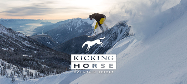 powder day Kicking Horse Mountain Resort